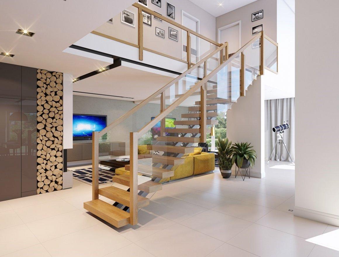 Wählen Sie Ihr Treppen-Schmuckstück – aus verschiedenen Typen und Holzarten. Toppen Sie es mit einem eleganten Glasgeländer!