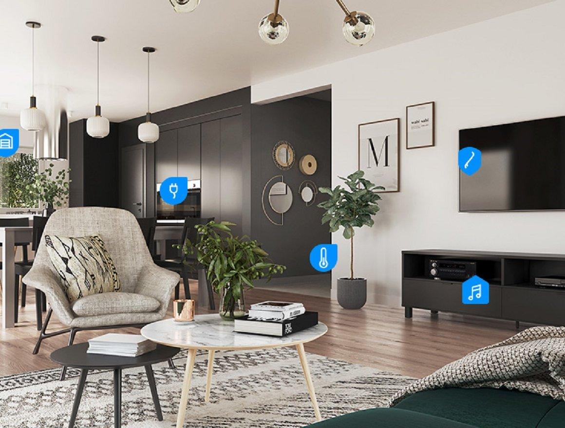 10% Einführungsrabatt: Fibaro Smart Home für Ihr DAN-WOOD Haus!